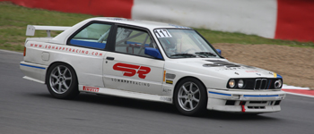BMW E30 M3 test at Zolder